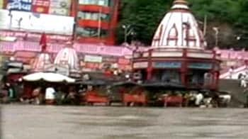 Videos : हरिद्वार और ऋषिकेश में भयंकर बाढ़