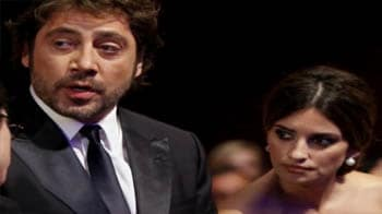 Video : Penelope ties the knot with Bardem