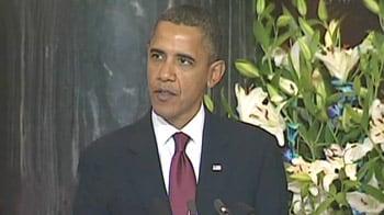Video : Barack Obama's address to Parliament