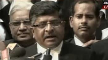 Video : Ayodhya land to be divided: Ravi Shankar Prasad