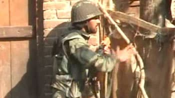 Video : Two militants killed in J&K encounter