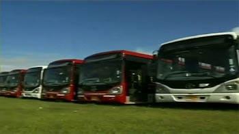 Video : Guwahati: Luxury buses gather dust