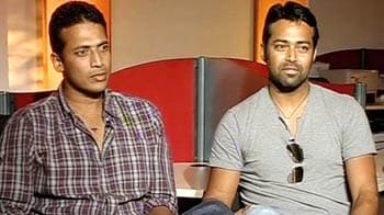 Video : Paes, Bhupati back together after 9 years