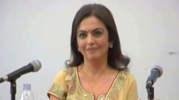 Video : India's corporate first lady at London School of Economics