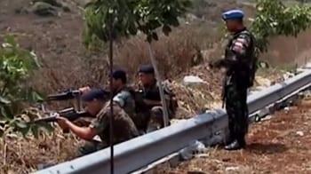 Video : Lebanon-Israel dispute: Battle footage