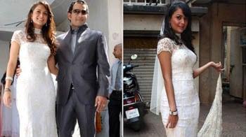 Amrita Arora-Shakeel Ladak: Here comes the bride