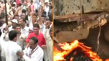 Video : Farmer agitation in UP stalls Parliament