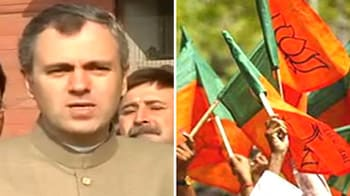 Video : Omar Abdullah to stop BJP's march to Lal Chowk
