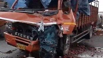 Video : पानीपत में सड़क हादसा, 6 की मौत