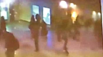 Video : Amateur video of Moscow attack