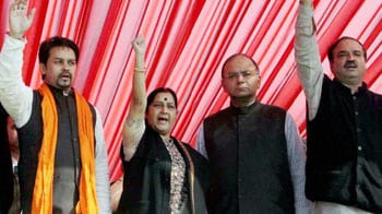 Video : Sushma Swaraj, mistress of Tweets