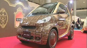 Video : A Mercedes that looks like chocolate