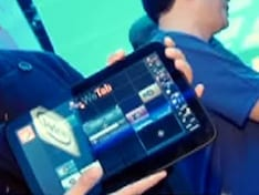 MeeGo spotted on a tablet