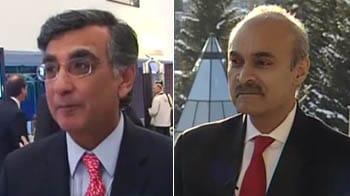 Video : NDTV@Davos: Harish Manwani, Manvinder Banga
