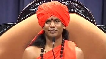 Video : Nithyananda makes light of rape charges