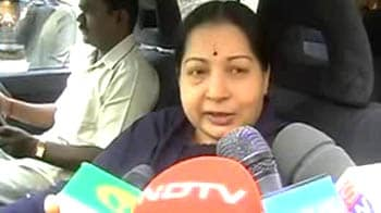 Video : Govt has made itself a 'laughing stock': Jayalalithaa