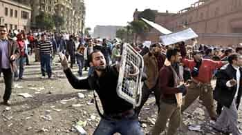 Video : Egypt unrest: NDTV reports from Ground Zero