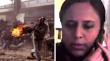 Video : Mob attacks NDTV crew in Cairo, army rescues