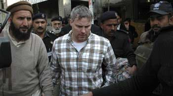 Video : Video shows US official detained for Lahore shooting