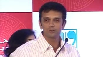 Video : World Cup: Rahul Dravid wishes India the best