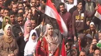 Video : Egypt protesters amass for demonstrations