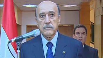 Video : Egypt Vice President announces Mubarak's resignation