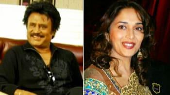 Videos : रजनीकांत को माधुरी ने कहा 'ना'