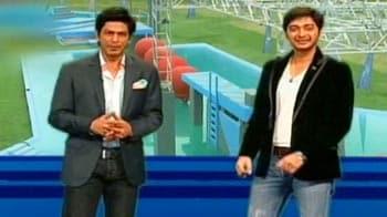 Video : शाहरुख के शो में श्रेयस पहुंचे