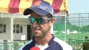 Video : Ryan Ten Doeschate takes NDTV's T20 test