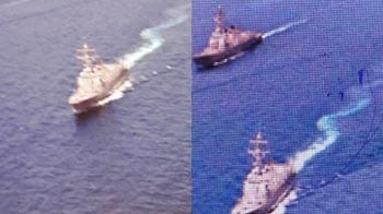 Video : Pak Navy at sea, ad promotes Indian ships