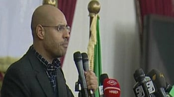 Video : 'We are coming', warns Gaddhafi's son