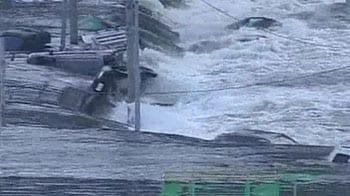 Video : Japan: 13-foot tsunami hits northern coastline