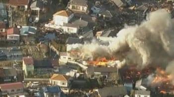 Videos : जापान में सुनामी से भारी तबाही