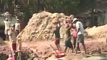 Video : Goa: Sand mining ban blatantly violated