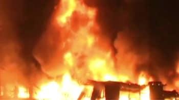 Video : मुंबई की कैमिकल फैक्टरी में आग
