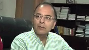 Video : Govt caught with pants down: Jaitley