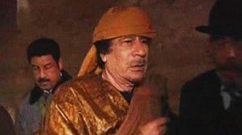 Video : Gaddafi vows Libya will defend itself