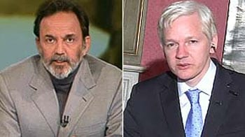 Video : Cash-for-votes cables are authentic: Assange to NDTV