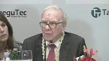 Video : Warren Buffett's recipe for charity