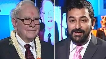 Video : Thank you, India, for Ajit, says Buffett