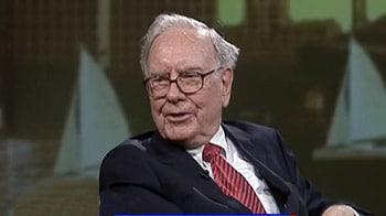 Video : Market changes lead to greed: Buffett
