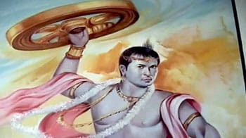 Videos : सचिन बने कृष्ण और सहवाग अर्जुन!