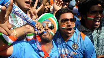 Video : India beat Pak: The party begins