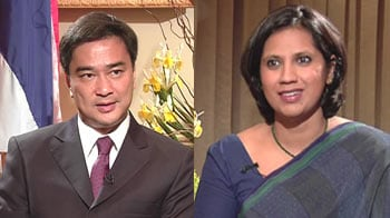 Video : Thai PM speaks to NDTV