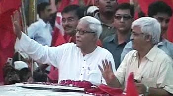 Video : Battle for Bengal: Buddhadeb's red 'drive'