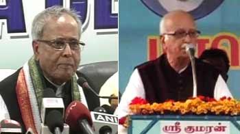 Video : Pranab, Advani promise Lokpal soon