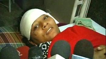 Video : Railways job for athlete attacked on train