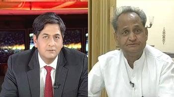 Video : I am against nepotism, favouritism: Ashok Gehlot