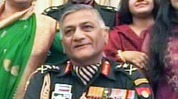 Video : Army Chief proves he's younger than believed