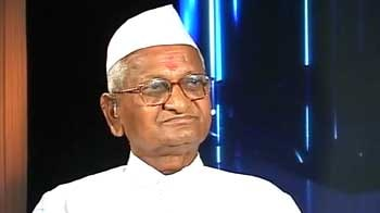 Video : Media played vital role in uprising: Anna Hazare